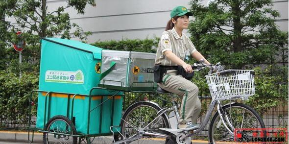 日本设置快递投递柜减轻二次配送负担