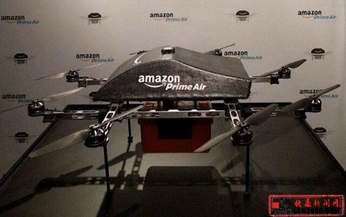 亚马逊Prime Air首次登场 未来快递员就这样