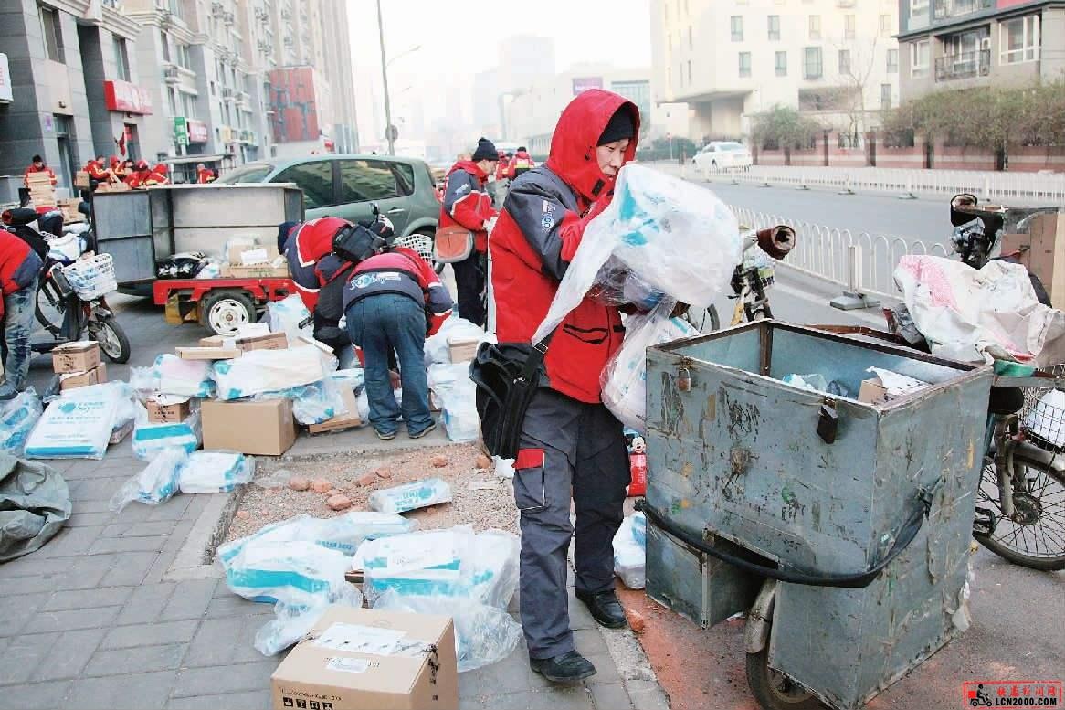 国外是怎么处理快递产生的包装垃圾的-快递新闻网