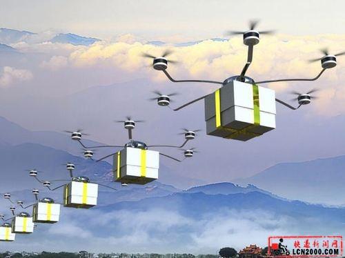 """无人机""""快递""""试验项目落地瑞士-快递新闻网"""