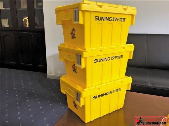 共享快递箱首现重庆 试点半年节省650万个快递纸盒