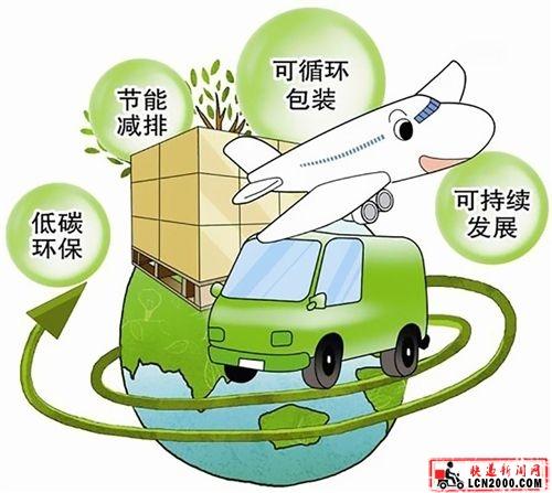 中国快递业推广可循环可降解包装材料