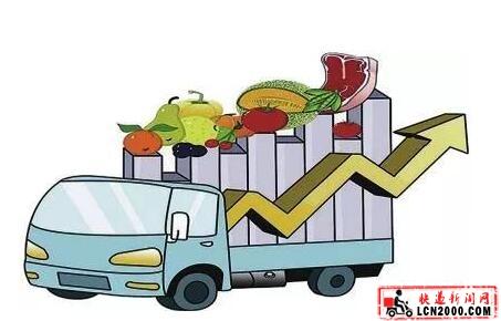 """快递小哥打通农产品运输""""最鲜一公里"""""""