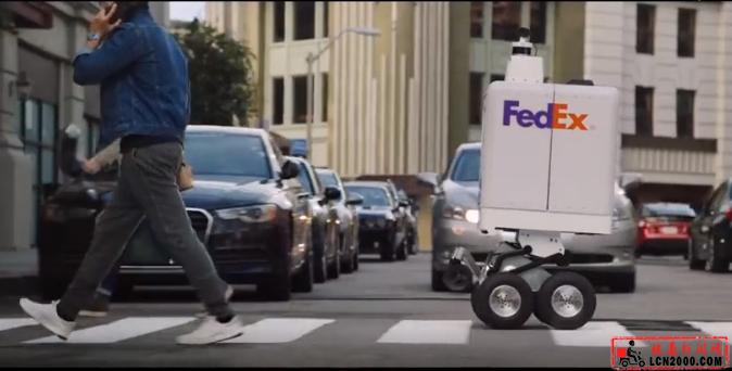 """美国联邦快递将测试""""机器人""""快递员-快递新闻网"""