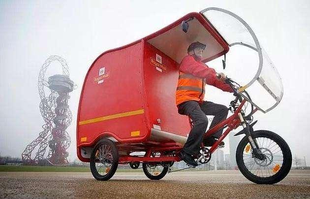 英国皇家邮政测试电动三轮车 推广清洁可持续投递-快递新闻网