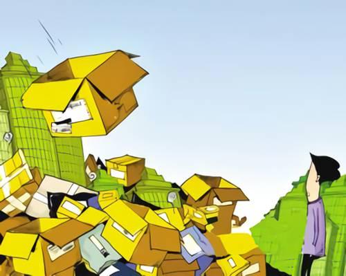 快递垃圾成灾 一场绿色包装革命正呼啸而来-快递新闻网