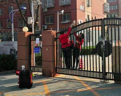 广州多社区快递外卖小哥禁入