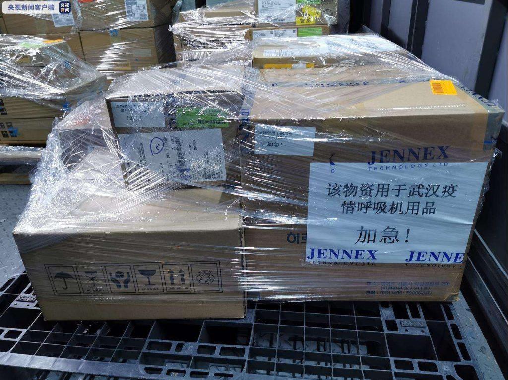 邮政、快递企业累计运输4.53万吨疫情防控物资
