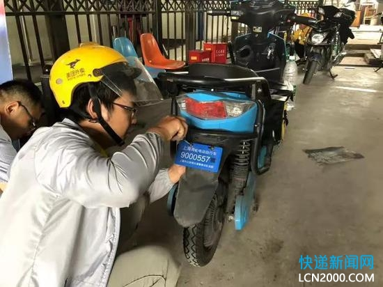 5月起,上海将对快递外卖车核发专用号牌