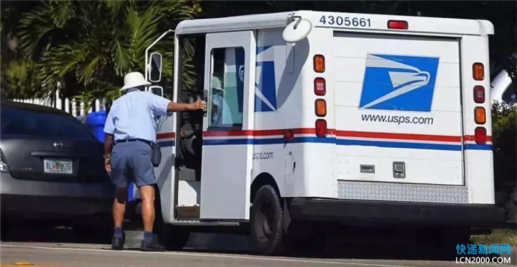 美国邮政计划将16.5万辆车辆换成电动货车