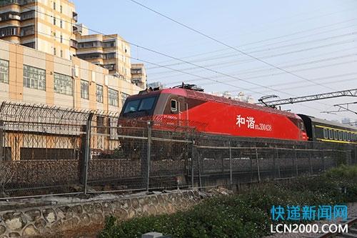 中国外运正式运营长沙-河内东盟国际货运班列